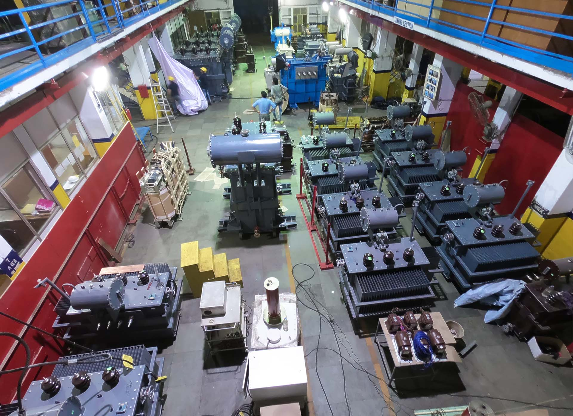 VARIOUS TYPES OF TRANSFORMERS & ELECTRICAL TESTING