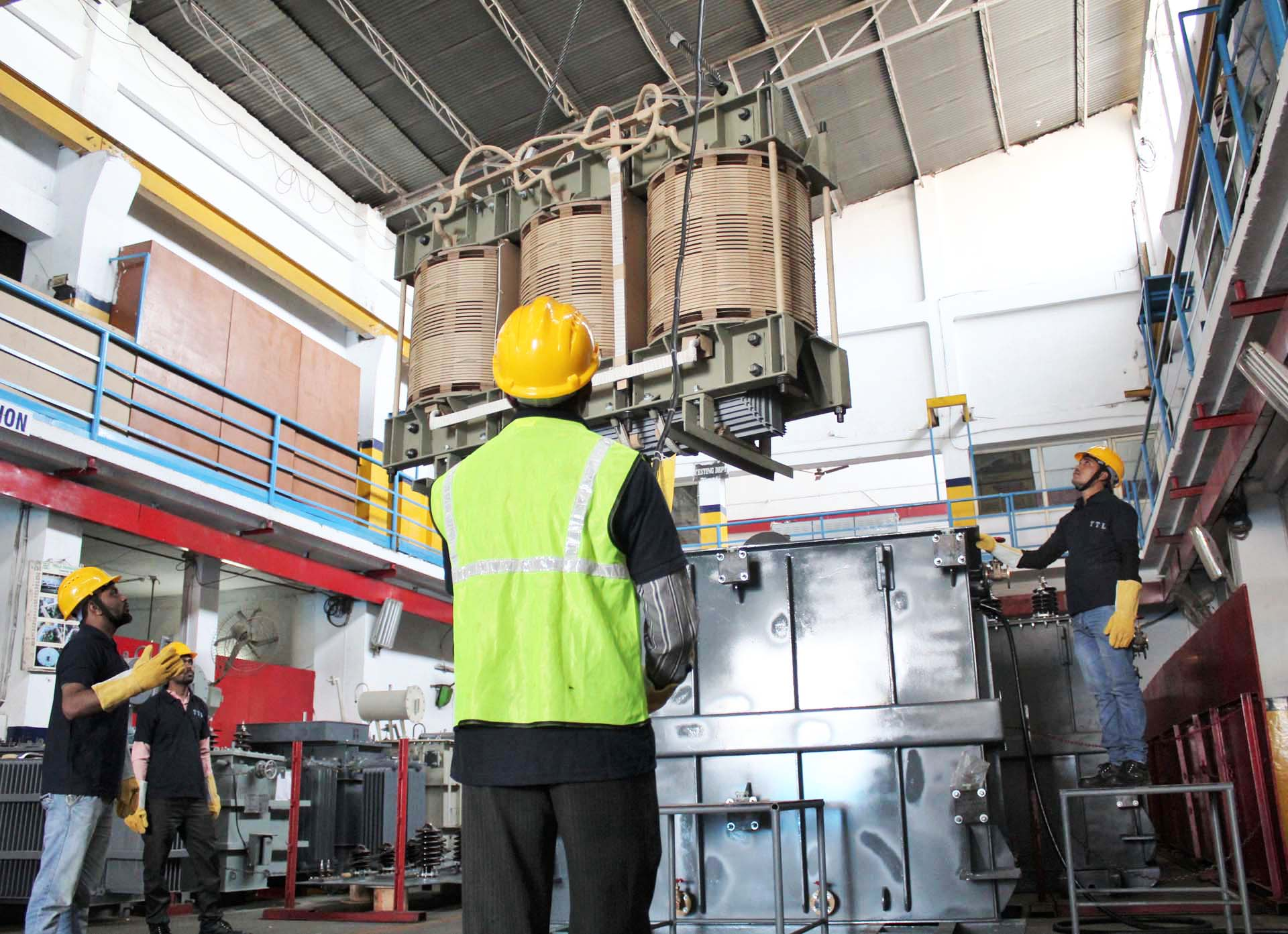 Manufacturing of Distribution Transformers