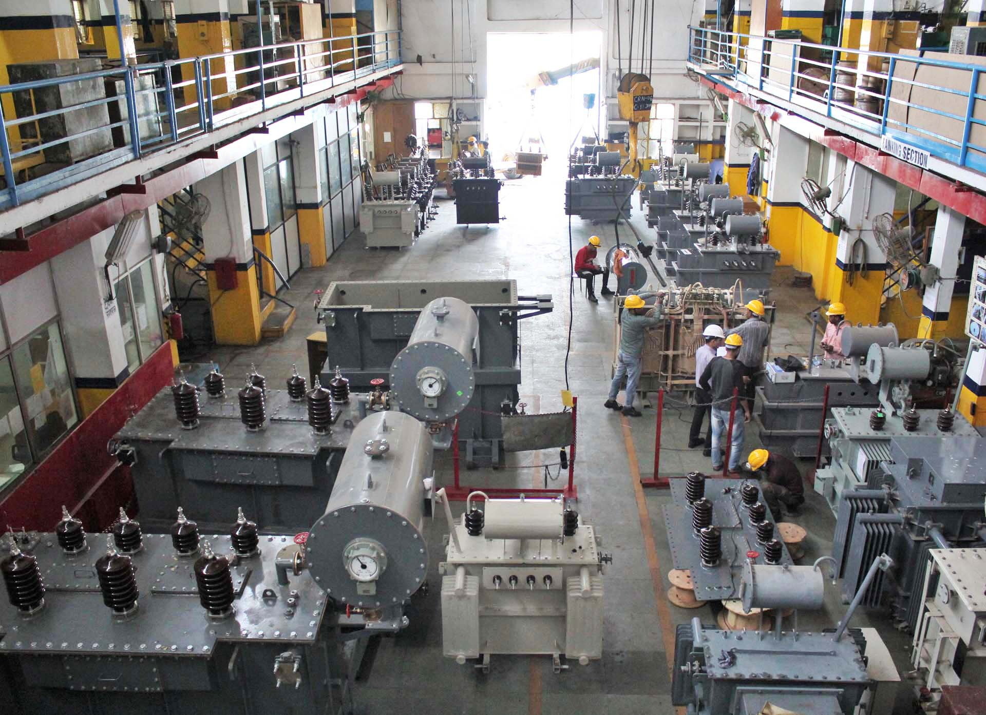 Manufacturing of Power Transformers