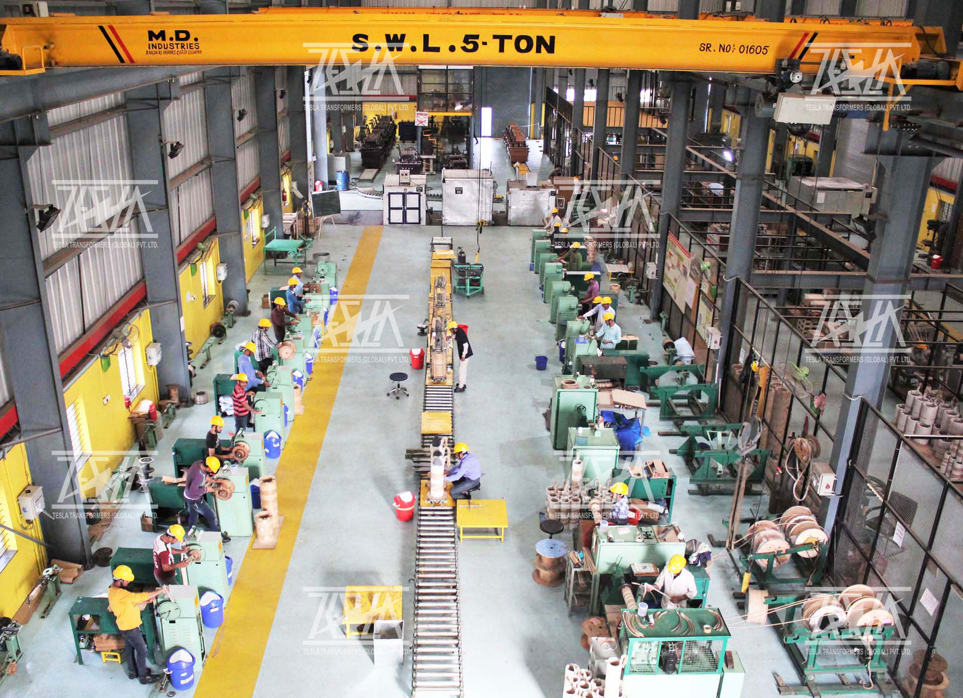 Manufacturing of Power and Distribution Transformers